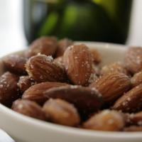 Salted almonds